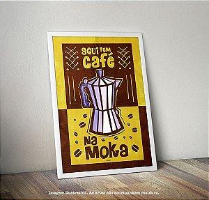 Pôster Café na Moka