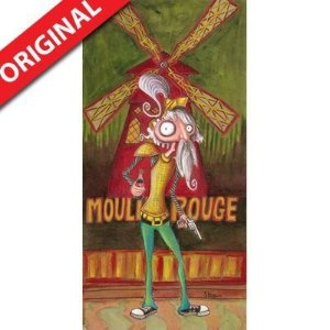 Pintura Moulin Rouge (por Renato Stegun)