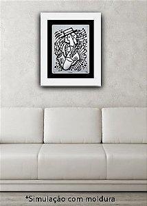 O SAXOFONISTA - Reprodução Giclée/Fine-Art - Série assinada e numerada com tiragem limitada