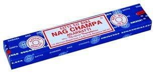 Incenso Nag Champa Agarbatti - Satya Sai Baba - Unidade e Caixa