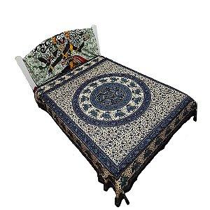 Colcha Indiana - Casal - Mandala