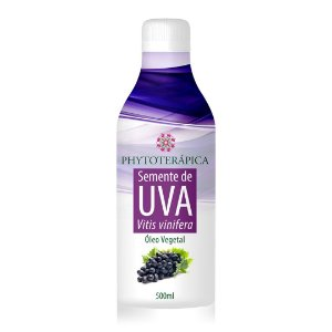Óleo vegetal Semente de Uva - 500 ml