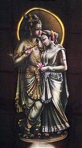 Canga Indiana - Deuses Hindus - Krishna e Radha