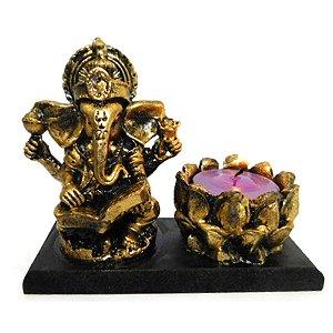 Porta Incenso e porta velas Lord Ganesha