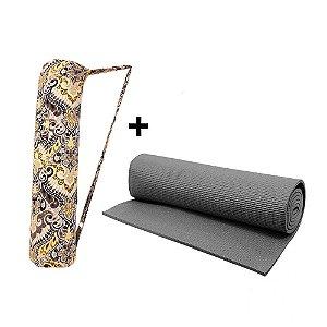 Kit Bolsa e tapete para Yoga