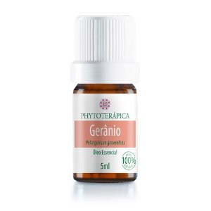 Óleo Essencial Gerânio - Pelargonium graveolens 5 ml (Phytoterápica)