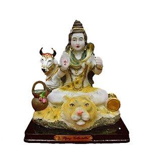 Estátua Shiva - O Deus Destruidor e Transformador - 16 cm