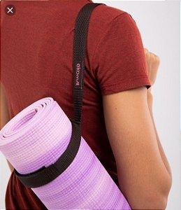Yoga Strap Faixa Para Alongamento Ekomat e Faixa Para Carregar Tapete de Yoga