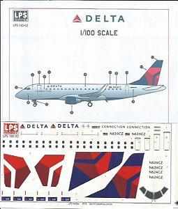 Decal E-170 Delta - escala 1/144 - LPS Hobby