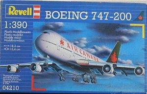 Boeing 747-200 - escala 1/390 - Revell Alemã