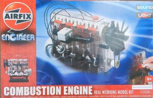 Combustion Engine - real working model kit - escala aprox. 1/3 - Airfix