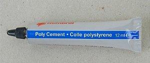 Humbrol cola em tubo para poliestireno - 12ml