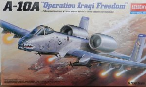 """A-10A """"Operation Iraqi Freedom"""" - escala 1/72 - Academy"""