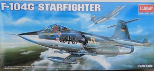 F-104G Starfighter - escala 1/72 - Academy