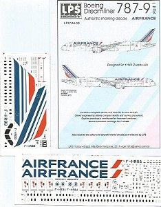 Decal Boeing 787-9 Air France - escala 1/144 - LPS Hobby
