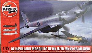 De Havilland Mosquito NF.Mk.II/FB.Mk.VI/FB.Mk.XVIII - escala 1/72 - Airfix