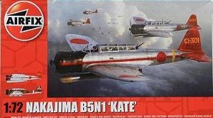 "Nakajima B5N1 ""Kate"" - escala 1/72 - Airfix"