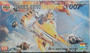 James Bond Autogyro - escala 1/24 - Airfix