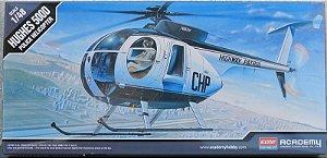 Hughes 500D Police Helicopter - escala 1/48 - Academy