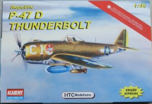 Republic P-47 Thunderbolt - escala 1/48 - HTC