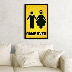 Quadro Decorativo - Gamer Over