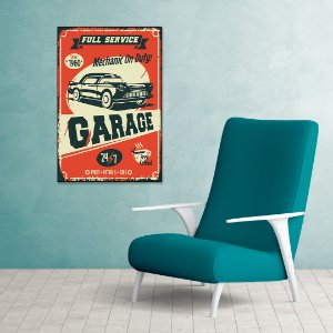 Quadro Decorativo - Garage