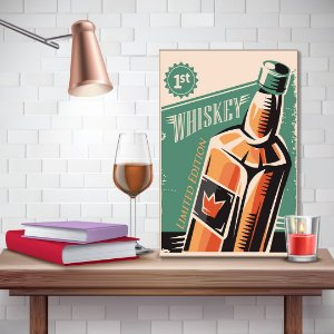 Quadro Decorativo - Whiskey