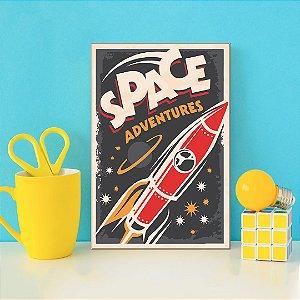 Quadro Decorativo - Space Adventures