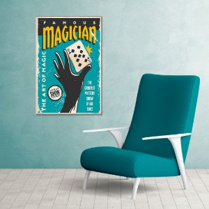 Quadro Decorativo - Magician