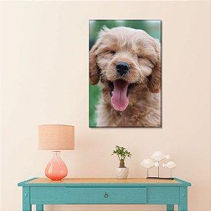 Quadro Decorativo - Cachorro fofo