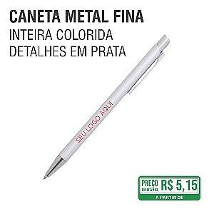 Caneta Metal Fina