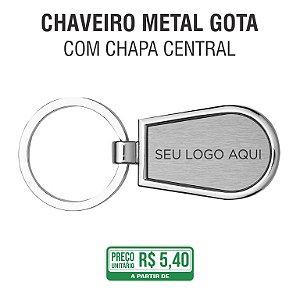 Chaveiro Metal Gota