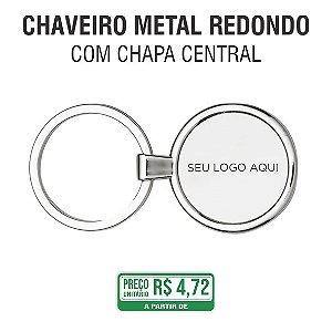 Chaveiro Metal Redondo