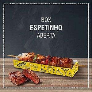 Box Espetinho aberta -  GENÉRICA (100 unidades)