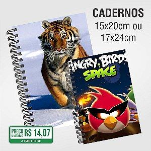 Caderno com 100 folhas