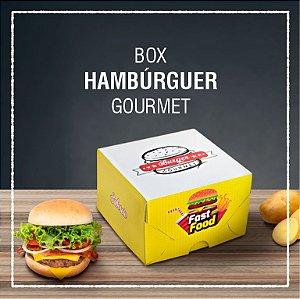 Box Hambúrguer gourmet -  GENÉRICA (100 unidades)