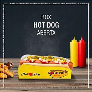 Box Hot Dog aberta -  GENÉRICA (100 unidades)