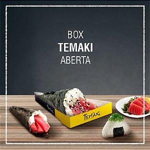 Box Temaki aberta -  GENÉRICA (100 unidades)