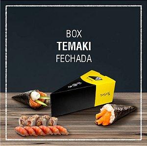 Box Temaki fechada com berço -  GENÉRICA (100 unidades)