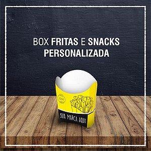 Box Fritas e Snacks -  PERSONALIZADA (4000 unidades)