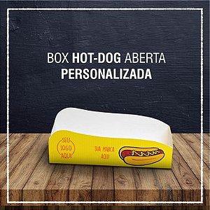 Box Hot Dog aberta -  PERSONALIZADA (2000 unidades)