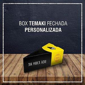 Box Temaki fechada -  PERSONALIZADA (2000 unidades)