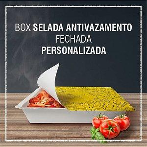 Box Selada Antivazamento do freezer ao microondas - PERSONALIZADA