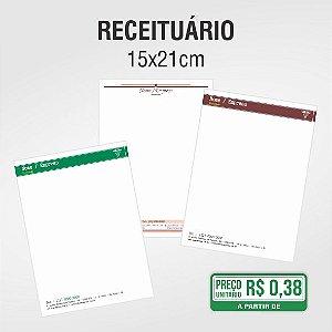 Receituário - 15x21cm