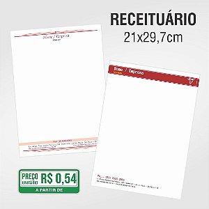 Receituário - 21x29,7cm