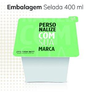 Embalagem selada Easy Lock 400ml Antivazamento - personalizada (1000 unidades)
