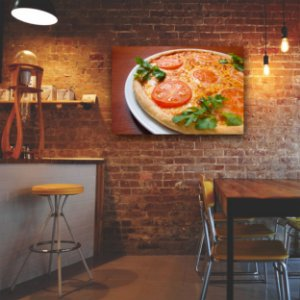 Quadro Decorativo - Pizza Mussarela