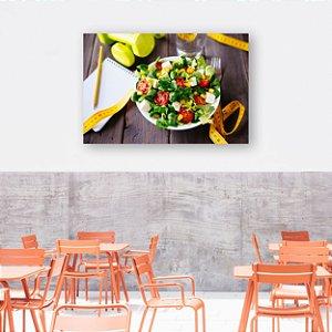 Quadro Decorativo - Salada Fitness