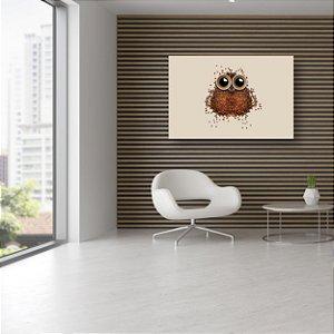 Quadro Decorativo - Café Coruja