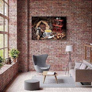 Quadro Decorativo - Café com Canela e Avelã
